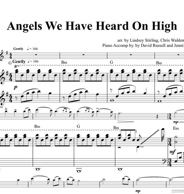 Angels We Have Heard On High w/KARAOKE