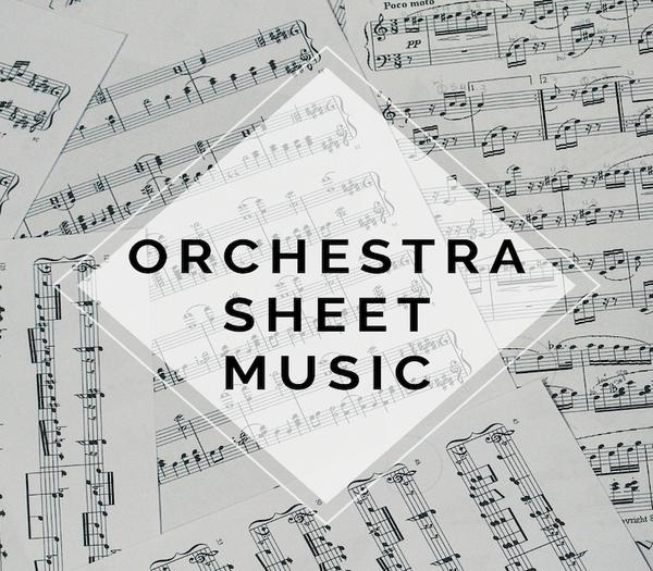 String Orchestra Celtic Carol Sheet Music w/ KARAOKE