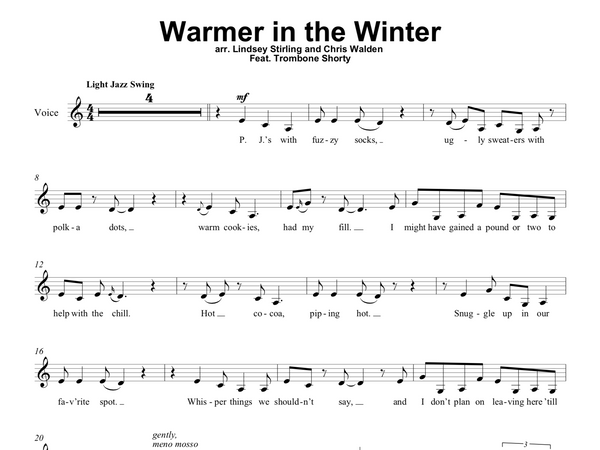 Warmer in the Winter Play Along Book