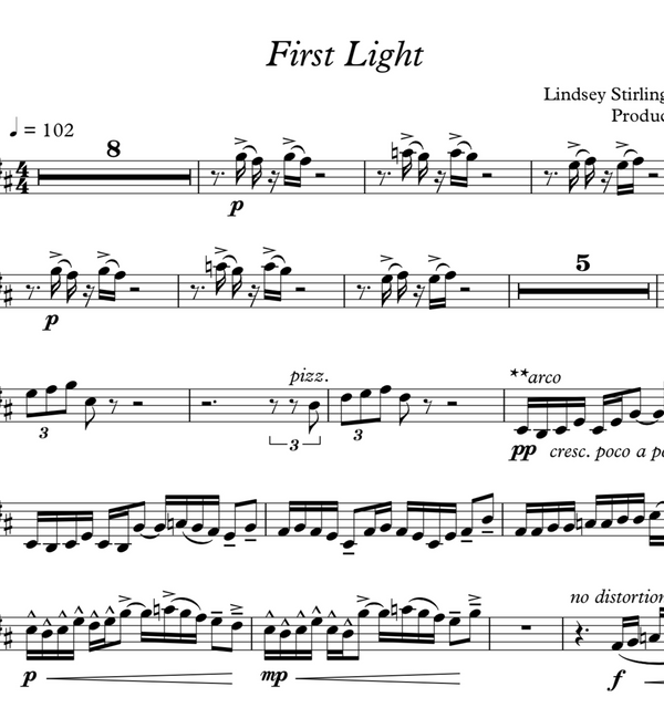 First Light w/ KARAOKE Play-Along Tracks - Sheet Music
