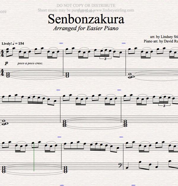 PIANO -  Sebonzakura