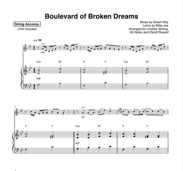 Boulevard of Broken Dreams with Play-Along Karaoke Tracks