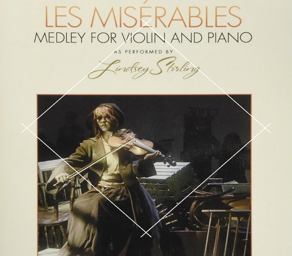 Les Misrables Medley Book w/ Piano Accompaniment