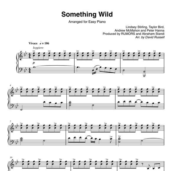 PIANO - Something Wild