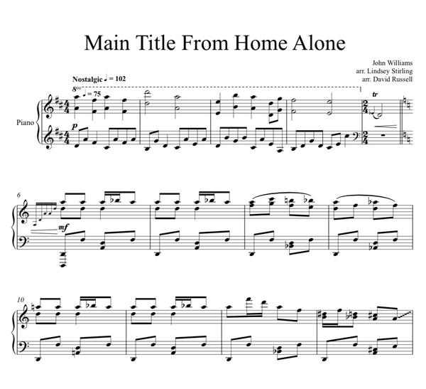 PIANO - Home Alone Main Theme