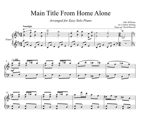 PIANO - Home Alone Main Theme