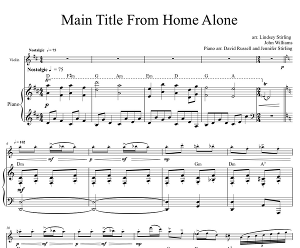 Home Alone Main Theme