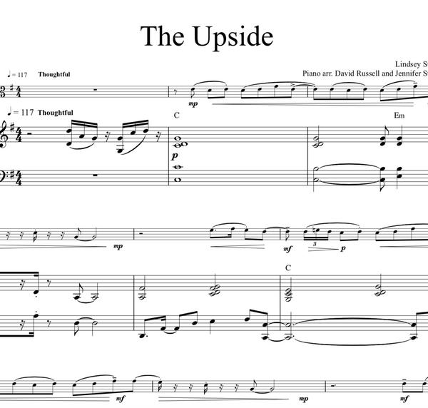 VIOLA The Upside w/ Karaoke Play-Along Track - Sheet Music