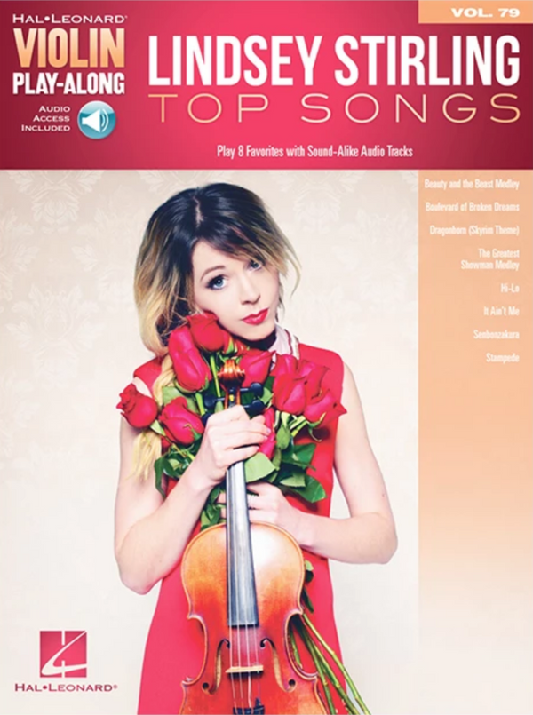 Lindsey Stirling Top Songs Play-Along Book