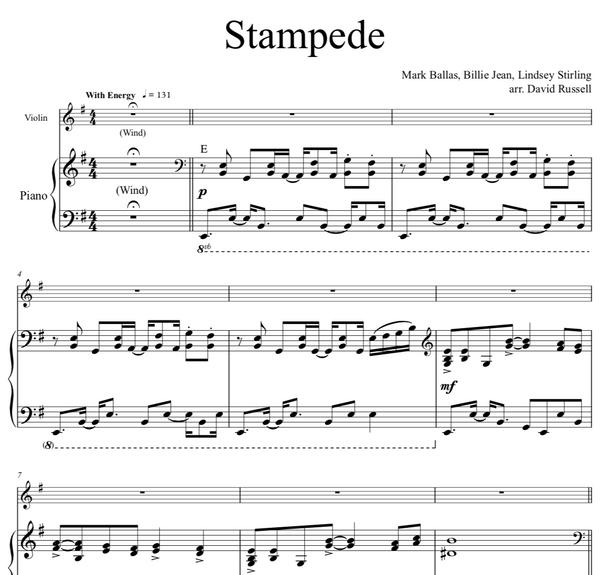 Stampede w/ Karaoke Play-Along Tracks