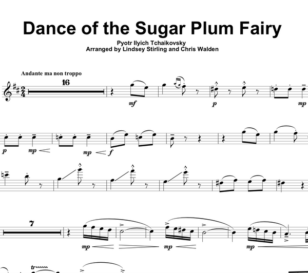 Dance of the Sugar Plum Fairy w/ Karaoke Play-Along Tracks