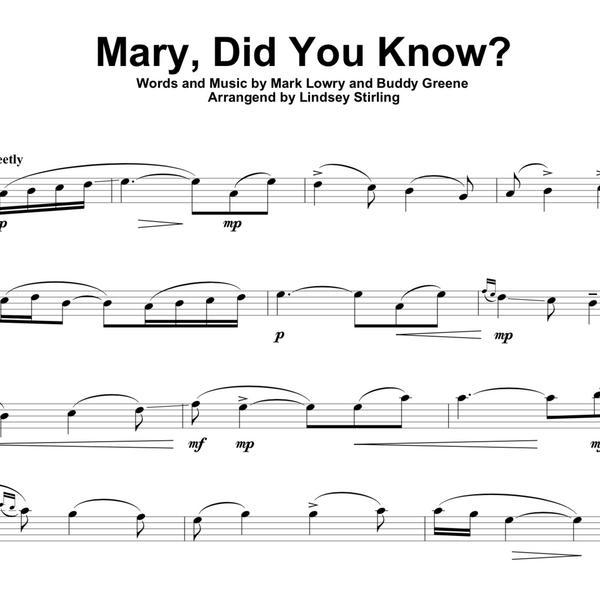Mary Did You Know w/ Karaoke Play-Along Tracks