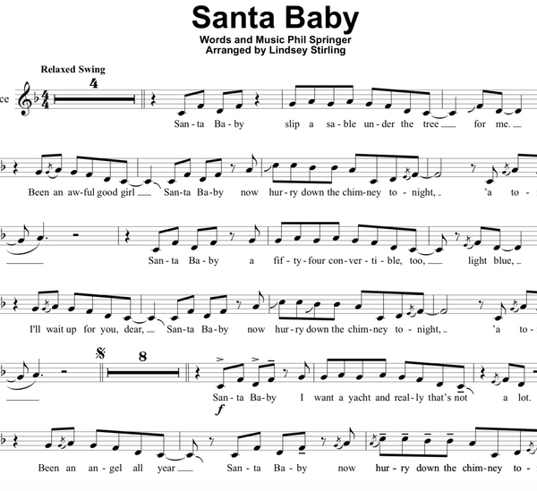 Santa Baby w/ Karaoke Play-Along Tracks