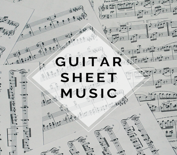 GUITAR Masquerade Sheet Music w/ KARAOKE