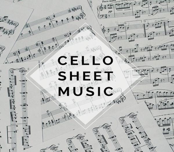CELLO Zelda Medley Sheet Music Duet w/ Piano