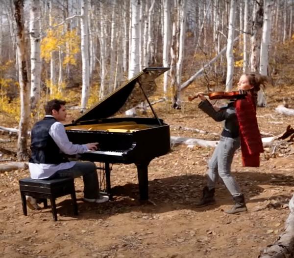 Halo Theme Piano and Violin Duet