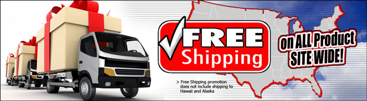 Free Shipping on all suspension products site wide