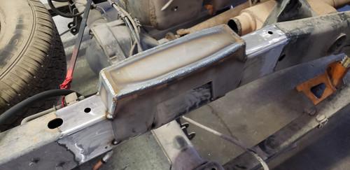 """Dodge Ram 1500 2002-2008,  4 """" Under Bed Frame C- Notch"""