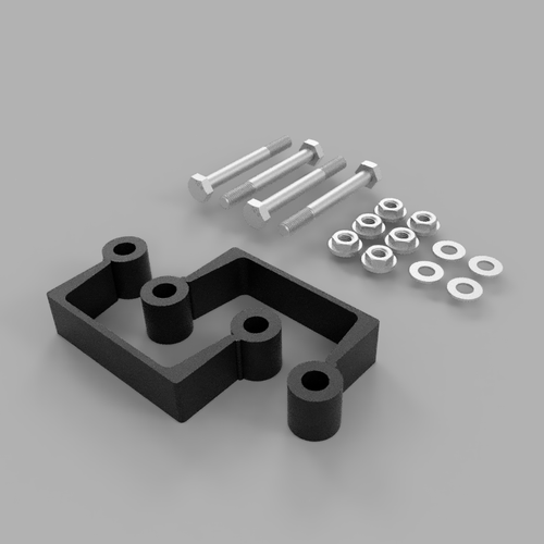 """GM 1500 Truck and SUV 2007-2019 Traxda 1"""" Leveling Spacer"""