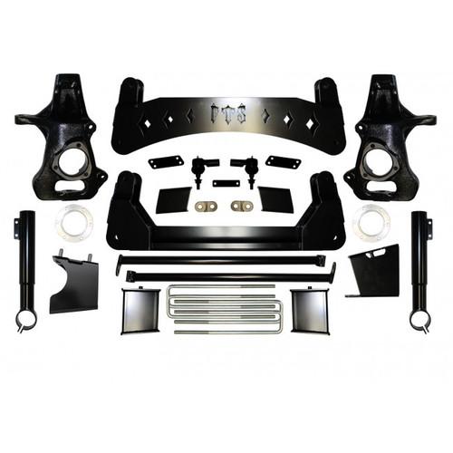 "Chevrolet Silverado 1500 2019-2021 7"" Full Throttle Suspension Basic Kit"