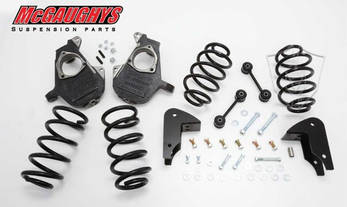 Chevrolet Avalanche LD Shocks 2007-2014 3/5 Deluxe Drop Kit - McGaughys Part# 30012
