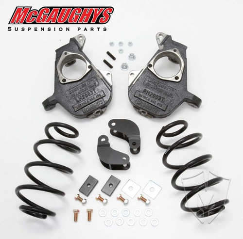 GMC Yukon HD Shocks 2001-2006 2/3 Deluxe Drop Kit - McGaughys Part# 33047