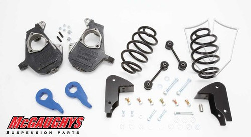 GMC Yukon XL LD Shocks 2001-2006 3/5 Deluxe Drop Kit - McGaughys Part# 33049