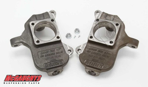 "GMC Sierra 3500HD 2001-2010 Front 2"" Drop Spindles - McGaughys Part# 33078"