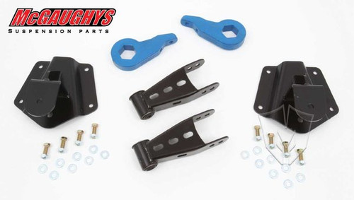 GMC Yukon 4wd 4 Door 1995-2000 2/4 Economy Drop Kit - McGaughys Part# 33147