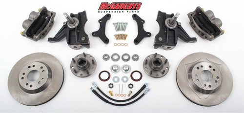 "Chevrolet C-10 1973-1987 13"" Front Disc Brake Kit W/Drop Spindles; 5x4.75 Bolt Pattern  - McGaughys Part# 33158"