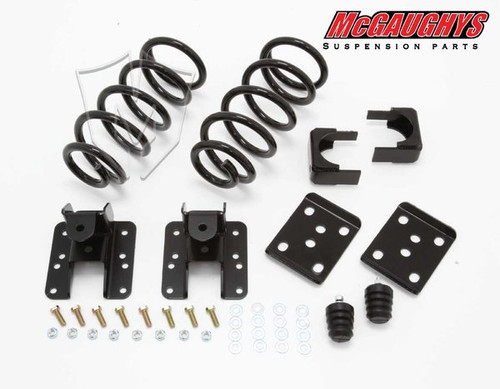 GMC Sierra 1500 Extended Cab 2007-2013 2/4 Economy Drop Kit - McGaughys Part# 34001