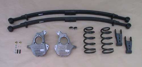 GMC Sierra 1500 Extended Cab 2007-2013 4/6 Deluxe Drop Kit - McGaughys Part# 34006