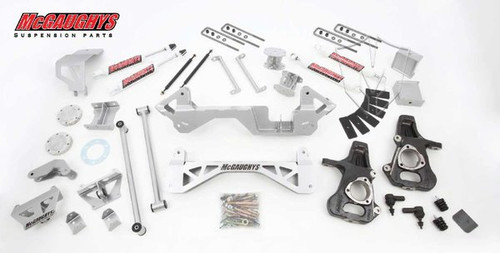 "Chevrolet Silverado 1500 4wd 1999-2006 7"" Lift Kit W/Shocks - McGaughys Part# 50000"