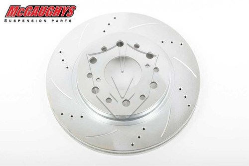 "GMC C-10 1960-1987 13"" Cross Drilled Disc Brake Rotor; 6x5.5 Bolt Pattern - Passenger Side - McGaughys Part# 63140"