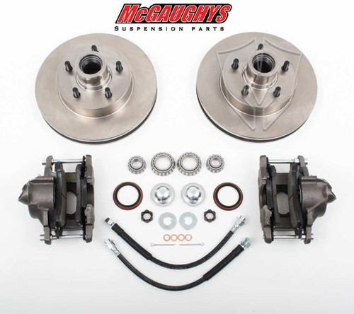 "GMC C-10 1960-1987 12"" Front Disc Brake Kit; 5x5 Bolt Pattern - McGaughys Part# 63156"