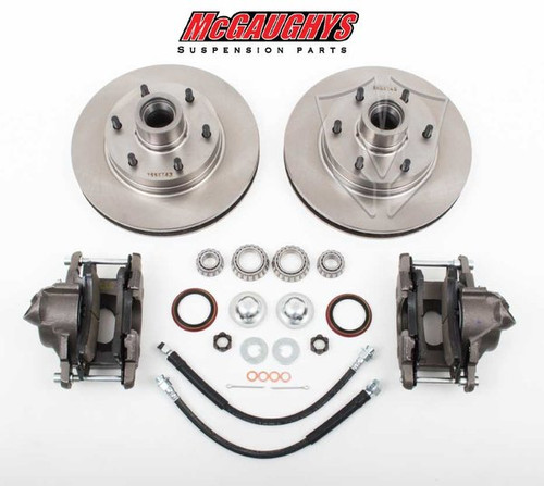 "GMC C-10 1960-1987 12"" Front Disc Brake Kit; 6x5.5 Bolt Pattern - McGaughys Part# 63157"