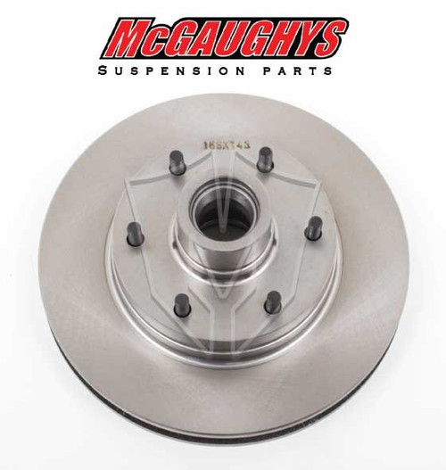 "GMC C-10 1960-1987 12"" Front Disc Brake Rotor; 6x5.5 Bolt Pattern - McGaughys Part# 63158"