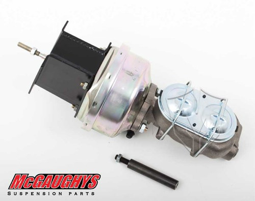 "Chevrolet C-10 1967-1972 7"" Brake Booster With Master Cylinder & Bracket; Front Drum Brakes - McGaughys Part# 63180"