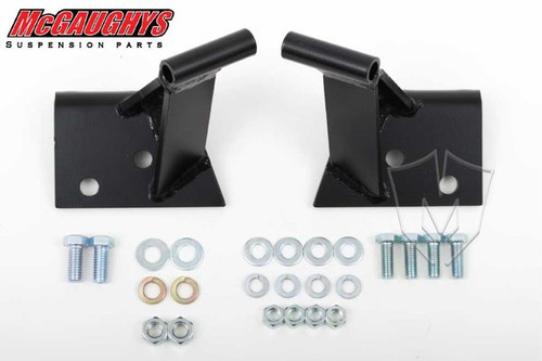 "Chevrolet Fullsize Car 1955-1957 3/4"" Forward Side Motor Mounts; Seamless Frame - McGaughys Part# 63195"