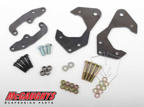 Chevrolet Fullsize Car 1959-1964 Front Disc Brake Conversion Brackets; Stock Spindles - McGaughys Part# 63224