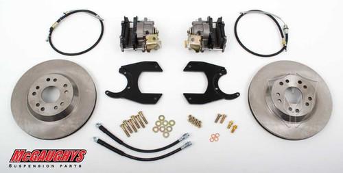 "GM Truck 12 Bolt Rear End - 13"" Rear Disc Brake Kit; 5x4.75 Bolt Pattern - McGaughys Part# 64200"