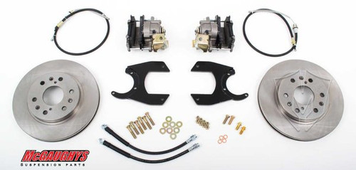 "GM Truck 12 Bolt Rear End - 13"" Rear Disc Brake Kit; 6x5.5 Bolt Pattern - McGaughys Part# 64300"