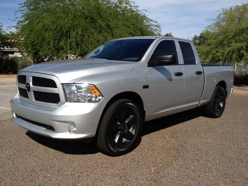 "2013 Dodge Ram Quad Cab - 2"" Rear Leveling Coils, Factory 20"" Wheels & Tires"