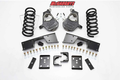 GMC Sierra 1500 Extended/Quad Cab 1999-2006 4/6 Deluxe Drop Kit - McGaughys Part# 93017/93019/93021/93023