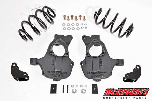 Chevrolet Suburban 2wd 2015-2019 2/3 Deluxe Drop Kit - McGaughys Part# 34213/34214