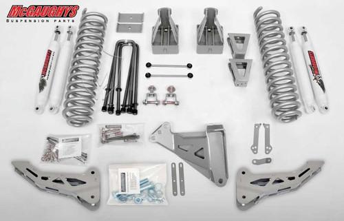 "Ford F350 4wd 2008-2010 6"" Lift Kit W/Shocks Phase I - McGaughys Part# 57341"