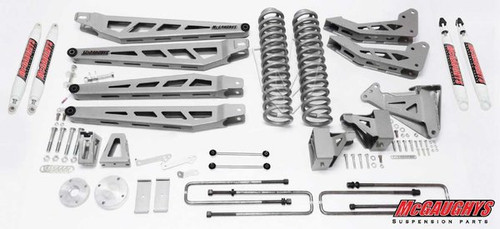 """Ford F250 4wd 2008-2010 6"""" Lift Kit W/Shocks Phase III - McGaughys Part# 57243"""