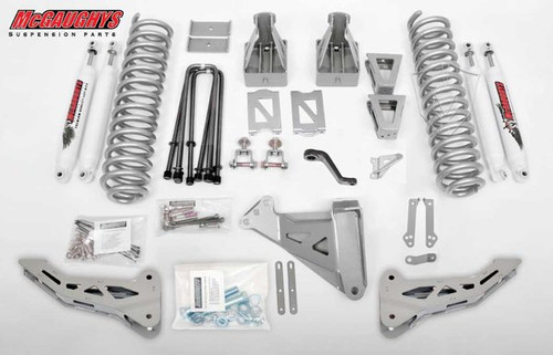 "Ford F350 4wd 2005-2007 6"" Lift Kit W/Shocks Phase I - McGaughys Part# 57331"