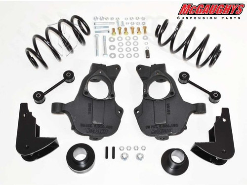 Chevrolet Suburban 2015-2019 2wd 3/5 Deluxe Drop Kit - McGaughys Part# 34216