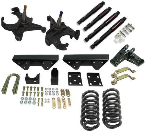 GMC C-10 1973-1987 5.5/7 Squarebody Syndicate Drop Kit